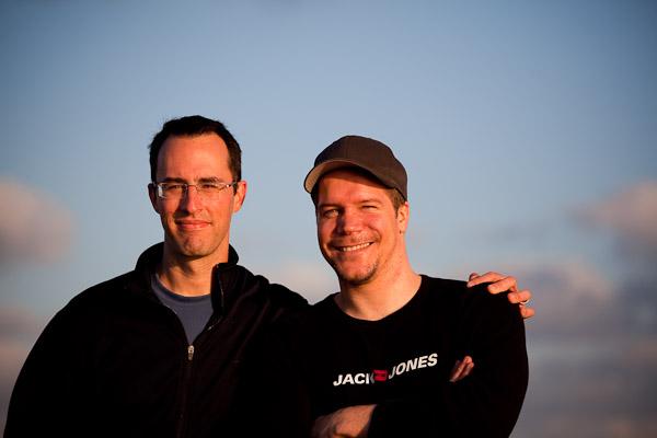Matt K. and me