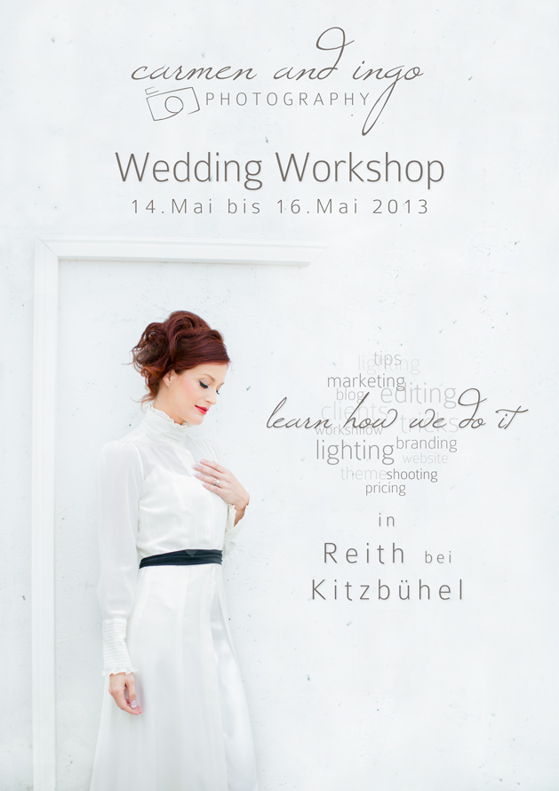 Candi Wedding Workshop May 2013 in Tyrol