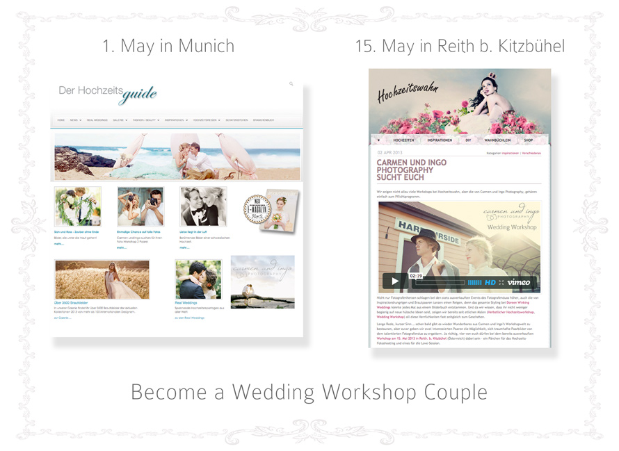 We are looking for you | Workshop Couples