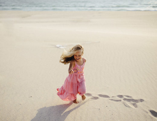 Mädchen am Strand - Erinnerungsfoto - aufgenommen von Carmen and Ingo Photography